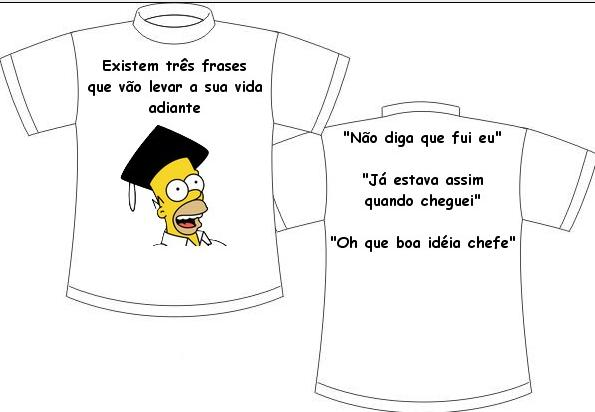 camisetas para formandos Simpsons